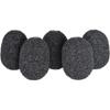 Lavalier Foams Black (1 pack of 5)