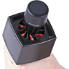 Rycote Single Square Black Mic Flag