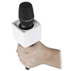 Rycote Single Square White Mic Flag