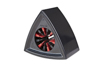 20 x  Single Triangular Black Mic Flag