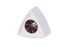 Rycote 20 x Single Triangular White Mic Flag
