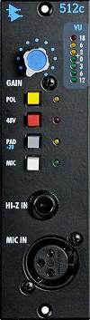 512C Discrete Mic / Line Pre