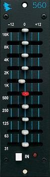 560 Discrete 10 Band Graphic EQ