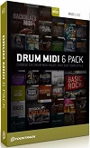 Toontrack EZDrummer Midi 6 Pack [Download]
