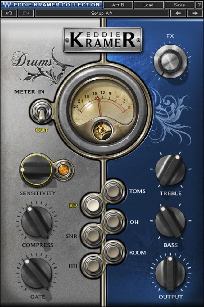 Waves Eddie Kramer Drum Channel [Download]