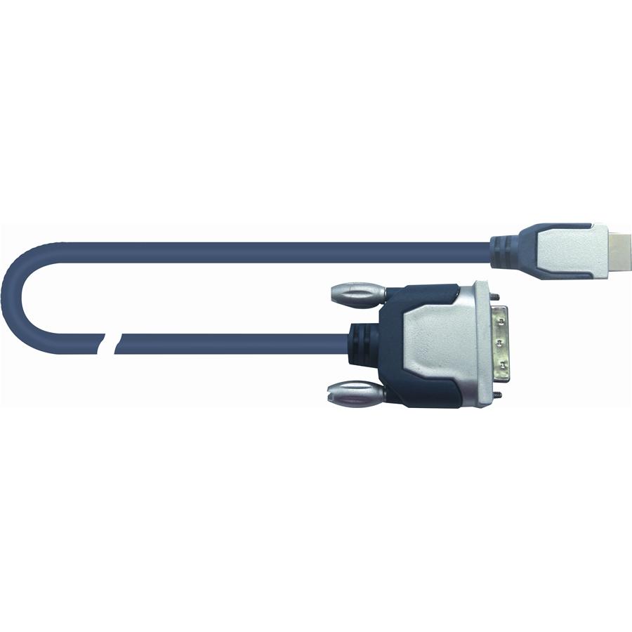 Quik Lok DVI 18+1 Ma > HDMI Ma 2m