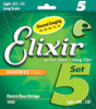 Elixir NWBLS5 045-130 - Nickel Plated Steel