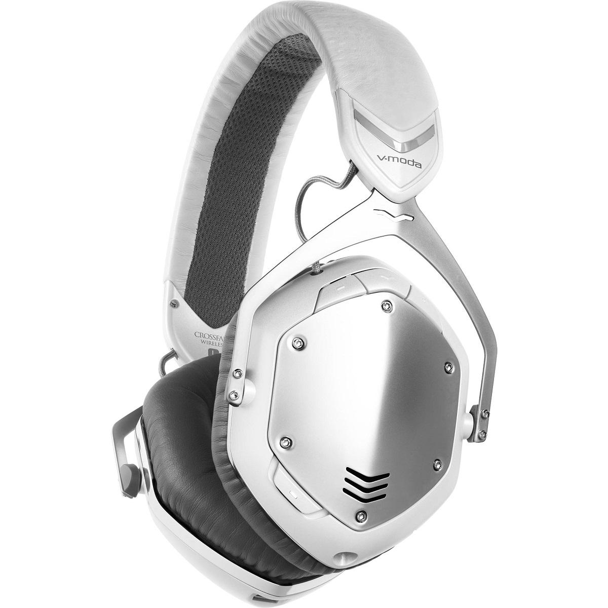 V-Moda Crossfade Wireless White Silver