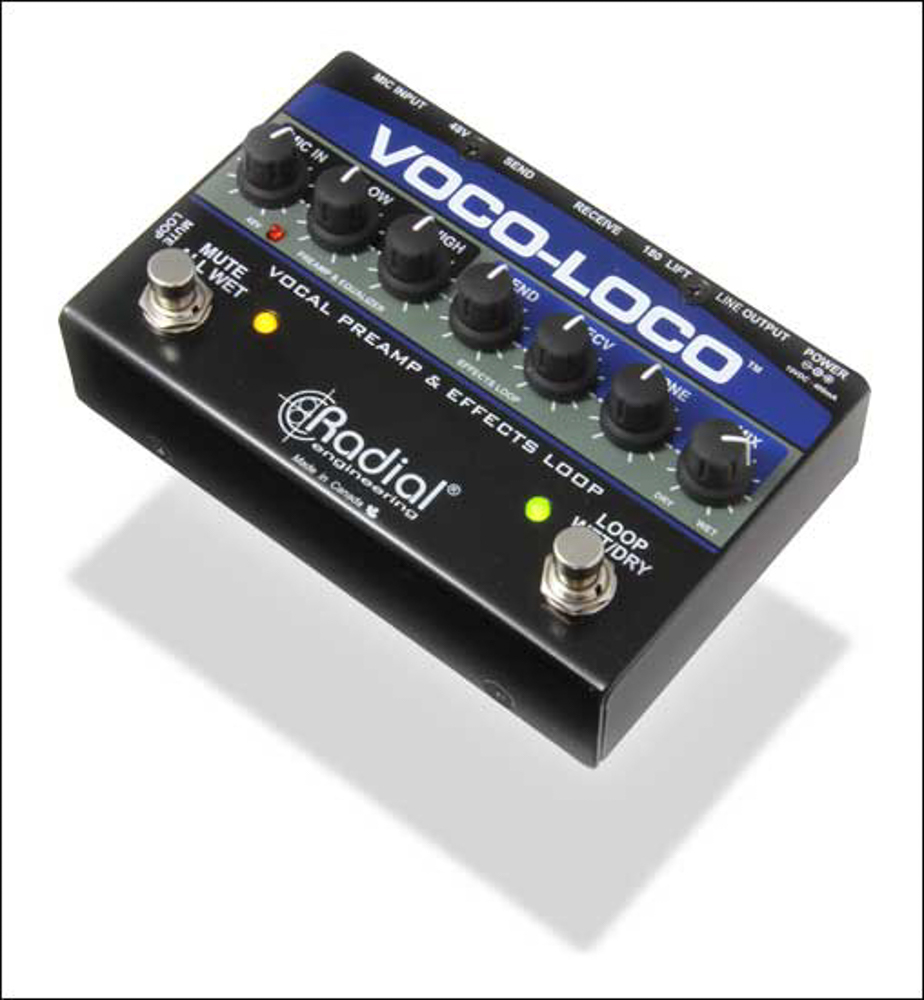 Radial VOCO-LOCO Effects Switcher for Voice or Instrument [B-Stock]