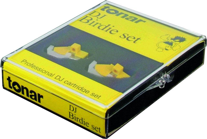 Tonar Birdie DJ disco cartridge (set of two)