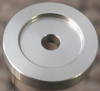 45 RPM adapter aluminum
