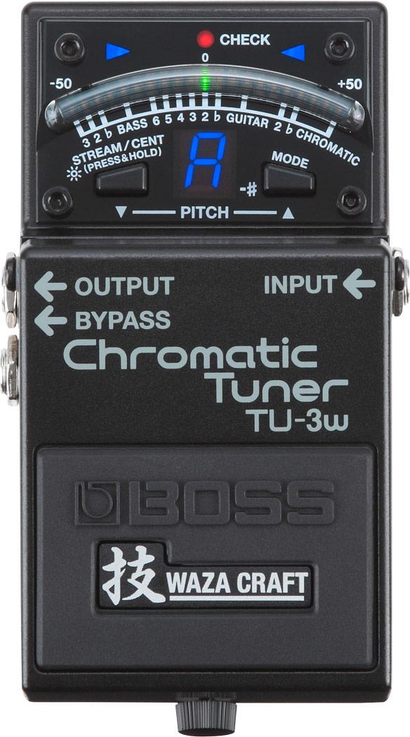 BOSS TU-3W Waza Craft Chromatic Tuner