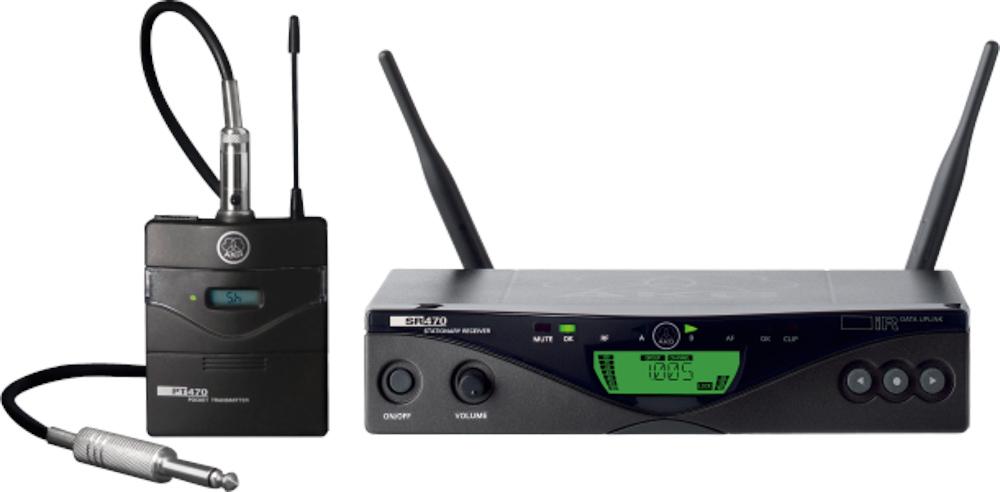 AKG WMS470 Instrumental MKGL (Band 1-50mW) 650-680MHz