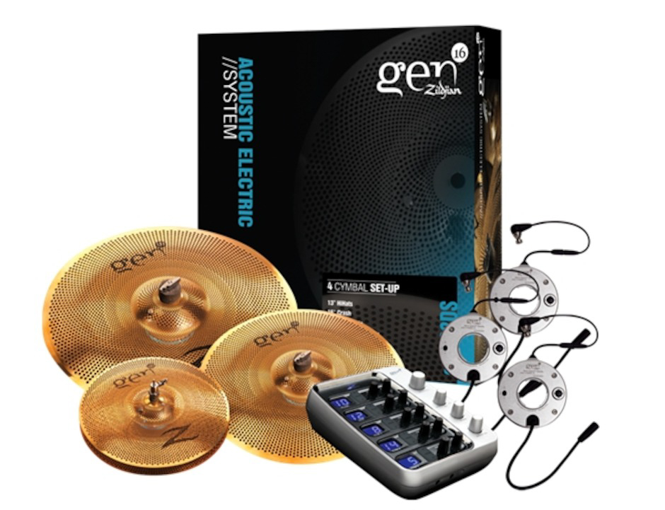 Zildjian Gen16 Buffed Bronze Direct Source 14/18/20 Box Set