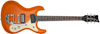 64 Guitar 3 Orange Metallic