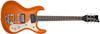 64 Guitar 3 Orange Metallic