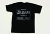 Zildjian T4672 Vintage Sign T-Shirt - Medium
