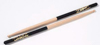 7A Black Dip Hickory Drumsticks Wood Tip