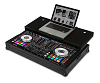 UDG Flight Case Pioneer DDJ-RX/SX/SX2 Black Plus (Laptop Shelf)
