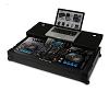 Flight Case Pioneer XDJ-RX Black Plus (Laptop Shelf + Wheels)