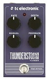 TC Electronic Thunderstorm Flanger Guitar Pedal