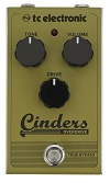 TC Electronic Cinders Overdrive Guitar Pedal