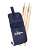 Zildjian 5A Hickory Drumsticks with Stick Bag Promo Pack