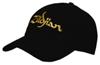 Zildjian T3200 Black Baseball Cap (Gold logo)