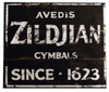Zildjian ZSIGN1 Factory Sign