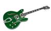 Hagström Viking Deluxe Custom- Emerald Green Pearl