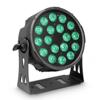 FLAT PRO 18 - 18 x 10 W FLAT LED RGBWA PAR