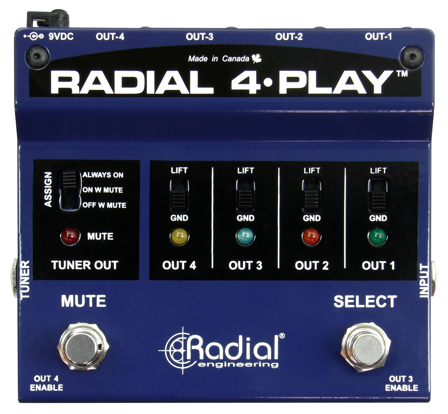 Radial 4 Play