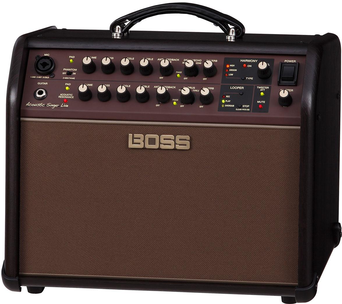 BOSS ACOUSTIC SINGER LIVE GUITAR AMP