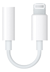 Apple Lightning to 3,5mm-adapter for headphones/headset