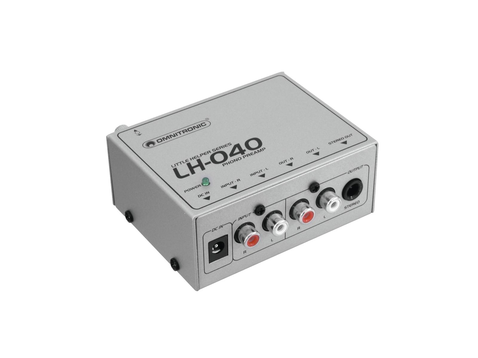 Omnitronic LH-040 Phono Preamp
