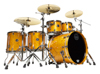 Mapex SV628XB-MNL 5-pc Shell Pack, Amber Maple Burl