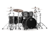 Mapex SV628XB-KFB 5-pc Shell Pack, Flat Black Maple Burl