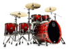 Mapex SV628XEB-KLE 5-pc Shell Pack, Cherry Mist Maple Burl