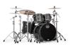 Mapex SV529XB-KFB 4-pc Shell Pack, Flat Black Maple Burl