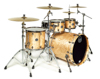 SV529XB-KFB 4-pc Shell Pack, Flat Black Maple Burl