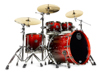 Mapex SV529XEB-KLE 4-pc Shell Pack, Cherry Mist Maple Burl