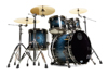 Mapex SV504XB-MSL 4-pc Shell Pack, Deep Water Maple Burl