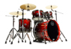 Mapex SV504XB-KLE 4-pc Shell Pack, Cherry Mist Maple Burl