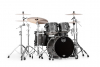 SV504XB-KFB 4-pc Shell Pack, Flat Black Maple Burl