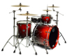 Mapex SV426XB-KLE 3-pc Shell Pack, Cherry Mist Maple Burl