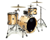 Mapex SV481XB-MXN 3-pc Shell Pack, Natural Maple Burl