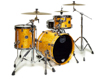 Mapex SV481XB-MNL 3-pc Shell Pack, Amber Maple Burl