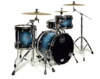 Mapex SV481XB-MSL 3-pc Shell Pack, Deep Water Maple Burl
