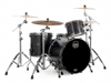 Mapex SV481XB-KFB 3-pc Shell Pack, Flat Black Maple Burl