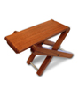 Cordoba Wood Foot Stool